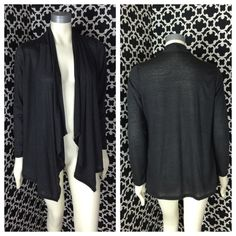 "LISTING Gray Asymmetrical Cardigan Perfect piece to have as a staple in your closet. Pair with some leggings and boots and if you want to go boho add a floppy hat! S-27"" Hi, 33"" lo, 20"" PTP - M-27"" HI, 33"" lo, 21"" PTP- L- 28"" HI, 33"" lo, 23"" PTP- XL- 28"" hi, 33"" lo, 24"" PTP. 92% rayon, 8% spandex. 8-7-15 model is wearing a XL Boutique Sweaters Cardigans"