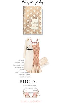 """""""Great Gatsby-themed"""" by kristina-susanto on Polyvore"""