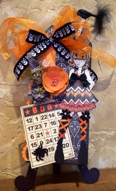 Prima Doll Tags Halloween 2014 by Shirl McNabb