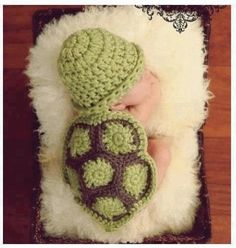 Cute netted turtle for baby's