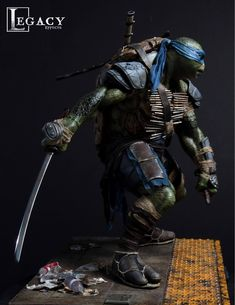Legacy Effects Teenage Mutant Ninja Turtles - Leo