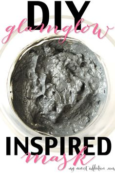Simple and easy mud mask. Try this DIY Glamglow Inspired Mask to clear your breakouts! - www.mynewestaddiction.com