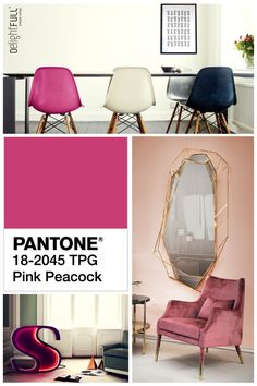 Color Week Inspirations: Pink Monday  Discover and be inspired at www.delightfull.eu and www.delightfull.eu/en/inspirations/  #livingroomideas #uniqueblog #modernfloorlamps #contemporarylighting #modernhomedecor #interiordesignideas #interiordesignproject #homedesignideas #midcenturystyle #moderndesign #luxurydecor #uniquelamps
