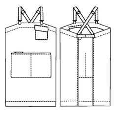 Buy the Victor Apron sewing pattern from Merchant & Mills. It's simple yet practical and suitable for all creative activities. Waxed Canvas, Cotton Canvas, Merchant And Mills, Sewing Aprons, Sewing Blogs, Creative Activities, The Ordinary, Sewing Patterns, Shapes
