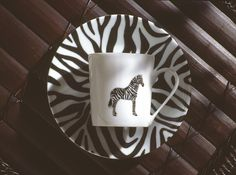 Zebra coffee cup and saucer,Jungle collection, safari, Zebra, black and white , .Dinnerware, porcelain, Limoges, jungle, Africa, hand made,FRAGILE by Patricia Deroubaix