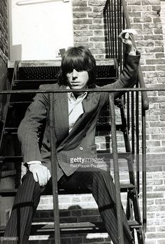 10th May 1967, Jeff Beck, the former lead guitarist with the 'Yardbirds' group…