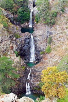 Waterfalls Maesano, Aspromonte National Park, Calabria, Italy