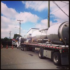 The fermenters have arrived!