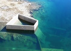 Yonaguni Underwater Formations, Japan - - Submerged stone structures lying just below the waters off Yonaguni Jima are actually the ruins of a Japanese Atlantis—an ancient city sunk by an earthquake about 2,000 years ago.