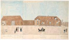 Fru Bergqvists hus vid Renstiernasgränd - Stockholmskällan