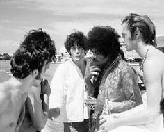 The Monkees with Hendrix