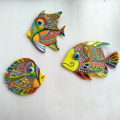 Fish Artwork, Fish Wall Art, Colorful Artwork, Handmade Toys, Etsy Handmade, Fish Sculpture, Get Well Gifts, New Home Gifts, Fisherman Gifts