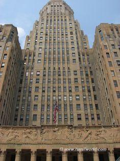 Art Deco building, Park Avenue in NY