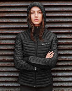 Women's Microtherm® Stormdown® Hooded Jacket | Eddie Bauer