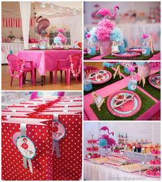 Pink Flamingo themed birthday party Full of Lots of Cute Ideas via Kara's Party Ideas! full of decorating ideas, cakes, recipes, favors, pri...