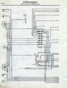 free auto wiring diagram 1971 vw beetle and super beetle wiring rh pinterest com 1973 Super Beetle Wiring Diagram 1972 vw super beetle wiring diagram