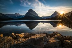 Photo Sunset at Glacier National Park by Larry Marshall Photography on 500px