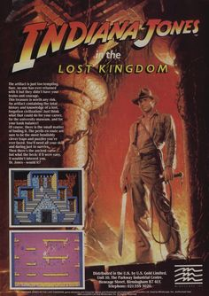Indiana Jones In The Lost Kingdom (1984)