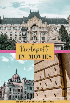 """Budapest has a long and colorful film history: from cinema classics to today's blockbusters.Budapest has made appearances on screen, playing herself and many other cities, adding some """"Eastern European"""" touch to the films. Budapest City, Visit Budapest, Budapest Hungary, Europe Travel Tips, Travel Guides, Budget Travel, Budapest Travel Guide, Walkable City, Buda Castle"""