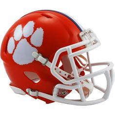 Riddell Speed NCAA Team Mini Football Helmet (Orange, Size ) - NCAA Licensed Product, NCAA Novelty at Academy Sports