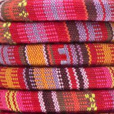 Pink & Red Regaliz® Multi Cotton Cord - Create a boho bracelet!