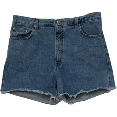1990s Abercrombie and Fitch Shorts: 90s -Abercrombie and Fitch- Womens... ($19) ❤ liked on Polyvore