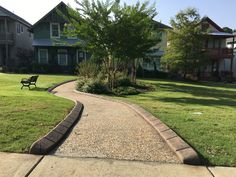 EdgeWise Curb Baxter Village Common Areas Landscape Curbing, Landscape Edging, Common Area, Flower Beds, Curb Appeal, Cement, Design, Garden Beds