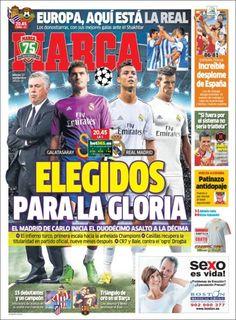 Los Titulares y Portadas de Noticias Destacadas Españolas del 17 de Septiembre de 2013 del Diario Marca ¿Que le pareció esta Portada de este Diario Español?