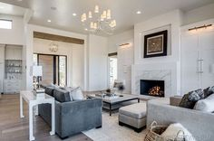 Custom Home Build Journey Inspiration Building a custom home in houston, texas header beams in living room with white walls