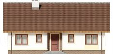 Elewacja frontowa projektu Talia mała Malaga, Dom, Garage Doors, Outdoor Decor, Home Decor, Houses, Projects, Decoration Home, Room Decor