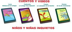 Colección de Video Cuentos para niños Hiperactivos TDAH y también en pdf