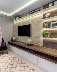 61 brilliant built in shelves design ideas for living room 58 - 221 Recipes - craftIdea.org