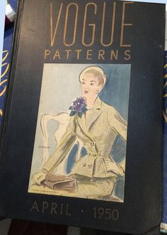 1950s Rare Vintage Vogue Tab Counter Catalog 100s of Pages