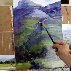 Interested in landscape paintings? Want to view original landscape paintings or learn more about painting landscapes? Visit my gallery and painting school to find resources, lessons and original art. I look forward to meeting you. Acrylic Painting Techniques, Oil Painting Abstract, Painting Art, Painting Tutorials, Watercolor Painting, Painting Styles, Famous Landscape Paintings, Landscape Art Lessons, Fall Landscape