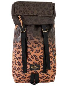 10 Deep - Division Day Pack (Leopard) $100 Nyc Fashion, Urban Fashion, Urban Outfits, Stylish Outfits, Ny Style, Rumble In The Jungle, Huf, Division, Rebel