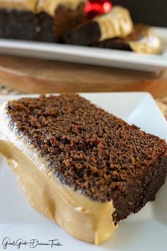 Gingerbread Cake with Cinnamon Molasses Frosting