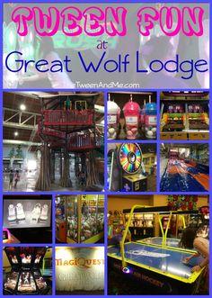 Tween Fun at Great Wolf Lodge   The Tween & Me (www.TheTweenAndMe.com)