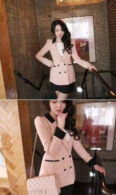 Baju Kantor Wanita Korea