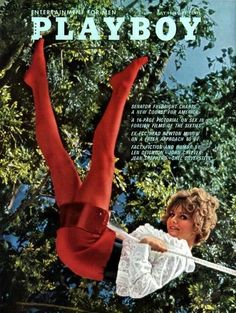 Playboy magazine cover July came from this issue! Vintage Playmates, Playboy Playmates, Shel Silverstein, Playmates Of The Month, Thing 1, Playboy Bunny, Strip, Paul Newman, Sophia Loren