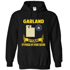 GARLAND- Its where my story begins! - #tee ball #sweater hoodie. SECURE CHECKOUT => https://www.sunfrog.com/No-Category/GARLAND-Its-where-my-story-begins-7813-Black-Hoodie.html?68278