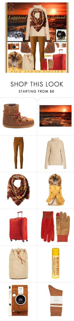 """Bucket List Trip - The Homeland Of Alfie & Birdie"" by sharee64 ❤ liked on Polyvore featuring INUIKII, Disney, STOULS, TIBI, La Fiorentina, Just Female, American Tourister, rag & bone, Herschel Supply Co. and Burt's Bees"