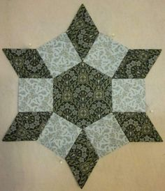 Castle Wall Quilt Block