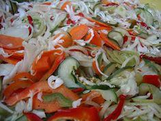 Hungarian Cuisine, Caprese Salad, Cabbage, Vegetables, Food, Essen, Cabbages, Vegetable Recipes, Meals