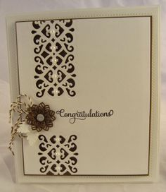 Striplet Collection - Congratulations Card