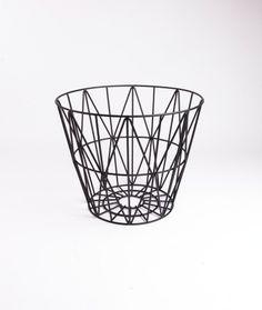 FERM Wire Basket black small