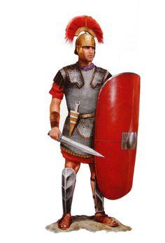 Римский морпеховский центурион, III век до н.э.