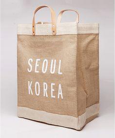 Apolis Market Bag, Seoul collaboration $80 http://www.mskshop.net/