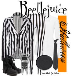 Inspired by Michael Keaton as Beetlejuice the title character in Tim Burton's 1988 film.