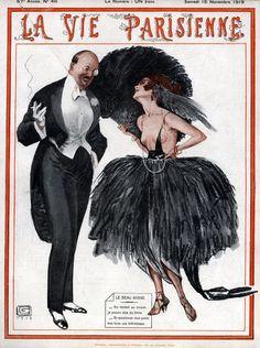 Georges Léonnec (1881 – 1940). La Vie Parisienne, 15 Novembre 1919.  [Pinned 22-vii-2015]