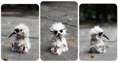 It's one of those things that are SO UGLY it's SO CUTE! LOL   T.G. Kiwi by Santani on deviantART